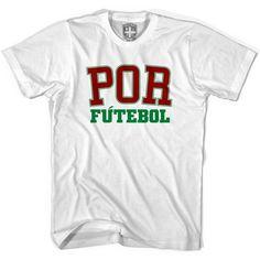 Portugal POR Soccer T-shirt