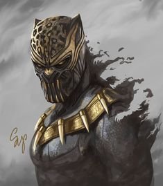 The True Heir of Wakanda Samdoarts Art Killmonger Marvel Art, Marvel Heroes, Thor Marvel, Captain Marvel, Character Drawing, Comic Character, Comic Books Art, Comic Art, Wakanda Marvel