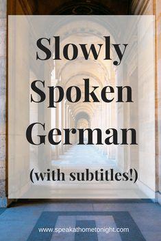 learn German, Deutsch lernen, German, Deutsch, speak German
