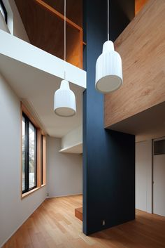 Shakujii U House is a minimalist residence located in Tokyo, Japan, designed by atelier KUKKA architects.