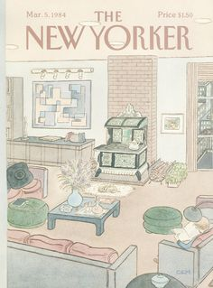 The New Yorker - Monday, March 5, 1984 - Issue # 3081 - Vol. 60 - N° 3 - Cover by : Charles E. Martin