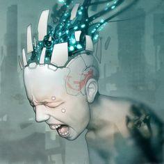Grendel album cover artwork 'Timewave Zero' by torvenius.deviantart.com