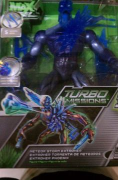 Max Steel Turbo Missions Toy | Mattel Max Steel Turbo Missions Meteor Storm Extroyer Figure New Rare ...