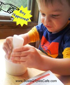 Boy Approved Crafts!
