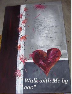 Walk with me, art by Leao