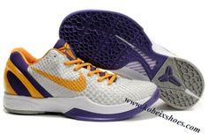 quality design 18b6b 1b901 Nike Zoom Kobe 6(VI) Black Orange Purple Nike Foamposite, Orange, Purple