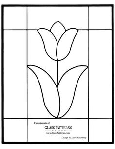 Even though this pattern is for stained glass, it would make a beautiful quilt if you just enlarged it.....