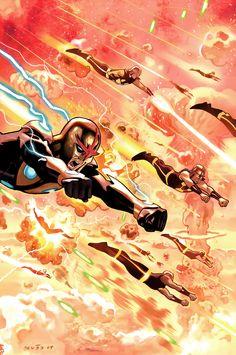 Nova Cover: Nova Marvel Comics Plastic Sign - 30 x 41 cm Marvel Comics, Marvel Dc, Marvel Heroes, Captain Marvel, Marvel Comic Character, Comic Book Characters, Marvel Characters, Comic Books Art, Comic Art