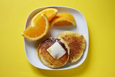 Orange Juice Pancake