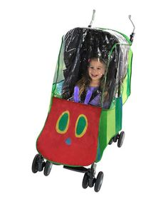 Look what I found on #zulily! The Very Hungry Caterpillar Rain Cover #zulilyfinds