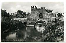 Italy 1930s Real Photo Postcard Roma Rome - Ponte Nomentana