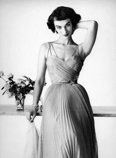 Model Victoria Von Hagen, 1950s.