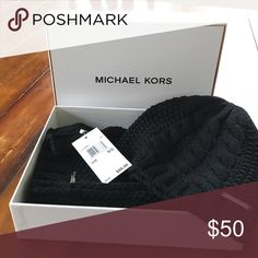 Michael Kors Scarf and Hat Set Beautiful brand new in box w/ tags. Never worn Michael Kors scarf and hat set. MICHAEL Michael Kors Accessories Hats