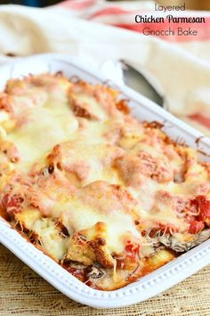 Layered Chicken Parm
