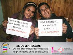 Mensajes desde SALTA, de jóvenes de PICHANAL SOLIDARIO - Red Nac   Día de prevención del embarazo no planificado en la adolescencia. #26deSeptiembre #TengoDerechoaDecidir  www.feim.org.ar