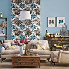 Se você quer mudar a decoração da sua sala de estar e não sabe por onde. Aqui vão algumas ideias para te inspirar e colocar em prática.