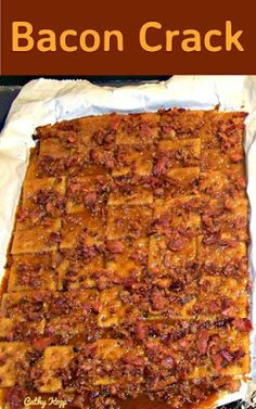 Bacon Crack Recipe on Yummly. @yummly #recipe