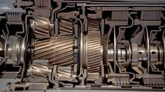 ZF Analogue Computer - Inside a Transmission - Photos of the black magic and the METAL Gear Train, Gas Turbine, Torque Converter, Black Magic, Gears, Engineering, Cutaway, Lincoln, Metal