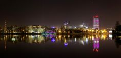 Bucharest at Night by Harald Roman on 500px