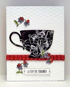 1/4/2012; Sylvia Nelson at 'Sylvia's Stamping Corner; blog; Tea Shoppe stamp set