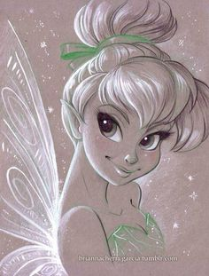 I love this design of Tinkerbell