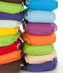 Stoffwindeln, Babykleidung bio, Stoffbinden, Slipeinlagen aus Stoff, Menstruationstassen, Stofftaschentücher, ökologische Waschmittel