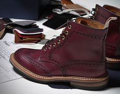 Tricker's x End Hunting Co. Oxblood Brogues 2013