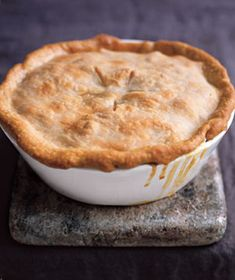 Chicken and Vegetable Pot Pie Recipe from realsimple.com. #myplate #vegetables #protein