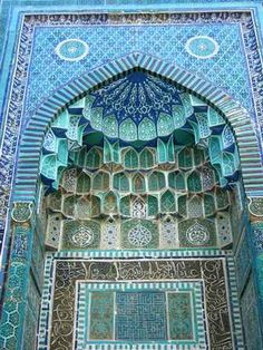 Uzbekistan (entrance idea) More Pins Like This At FOSTERGINGER @ Pinterest