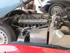 1959 Tojeiro Jaguar engine