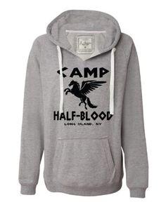 Camp half-blood sweatshirt to warm the winter nights at camp :)