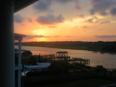 Sunset at Holden Beach, NC