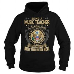 Music Teacher Job Title T Shirts, Hoodies. Check price ==► https://www.sunfrog.com/Jobs/Music-Teacher-Job-Title-Black-Hoodie.html?41382
