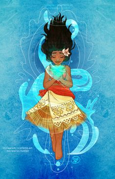 Moana and the heart of Te Fiti