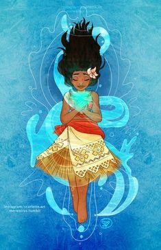 Moana and the heart of Te Fiti