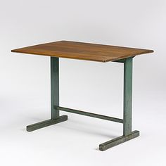 186: Jean Prouve / desk, model #20 < Important 20th Century Design Session 1, 20 May 2007 < Auctions | Wright