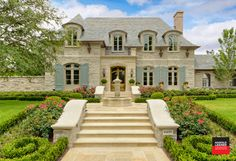 Private Residence - Country French Estate - traditional - landscape - dallas - Harold Leidner Landscape Architects