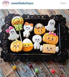 Adorable Halloween cookies More