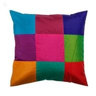 Colour Patchwork Cushion Cover
