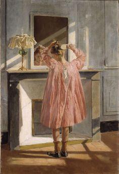 La Toilette by Antoni Fabrés (Barcelona, 1854 – Rome, Art Nouveau, Belle Epoque, Spanish Artists, Love Art, Young Women, Female Art, Impressionist, Oil On Canvas, Art Photography