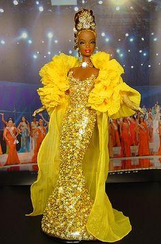 Ooak Barbie Ninimomos Miss Ghana 2007/2008