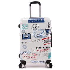 Estilo Hot bagagem navio livre miúdo dos desenhos animados de embarque / nova escola estudante trole mala / homens mulheres de viagens de negócios de moda bonde-in Carry-Ons de Bagagem & Bags on Aliexpress.com | Alibaba Group