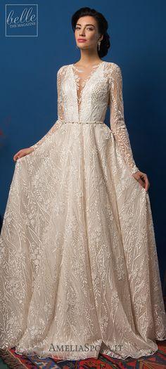 Amelia Sposa 2019 - Belle The Magazine Amelia Sposa Wedding Dress, Dream Wedding Dresses, Home Wedding, Wedding Blog, Wedding Dress Gallery, Sophisticated Bride, Bridal Collection, Bridal Gowns, Ball Gowns
