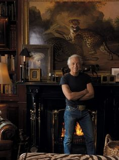 Ralph Lauren on the Revealing New Documentary, Very Ralph, Coming This Fall from HBO Photographed by Annie Leibovitz Ralph Lauren Style, Polo Ralph Lauren, San Damian, Hbo Documentaries, British Colonial Style, British Style, Wife And Kids, Second Empire, Home Movies