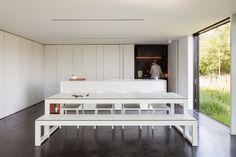 Bruno Vanbesien Architects: TV House, B–1790 Affligem Essene.