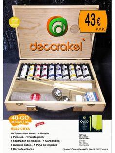 MALETIN CAJA DE OLEOS TITAN GOYA 36,5X26,50 CM Pvp, Colour Chart, Fine Art, Pallets, Crates, Paintings