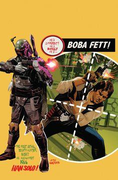 Boba Fett by Daniel Acuna