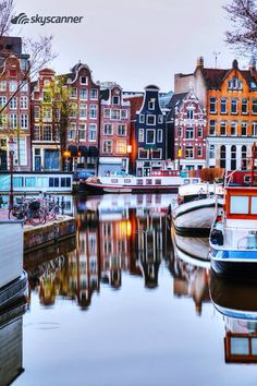 Amsterdam, Netherlands - Incredible Honeymoon Destinations You Haven& Thoug. Amsterdam, Netherlands – Incredible Honeymoon Destinations You Haven& Thought Of – Photos <! Places Around The World, Travel Around The World, The Places Youll Go, Places To See, Reisen In Europa, Cruise Destinations, European Honeymoon Destinations, Holiday Destinations, Voyage Europe