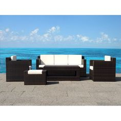 Found it at Wayfair - 5 Piece Deep Seating Group with Cushions