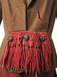 JacketDesigner: Elsa Schiaparelli (Italian, 1890–1973) Design House: House of…
